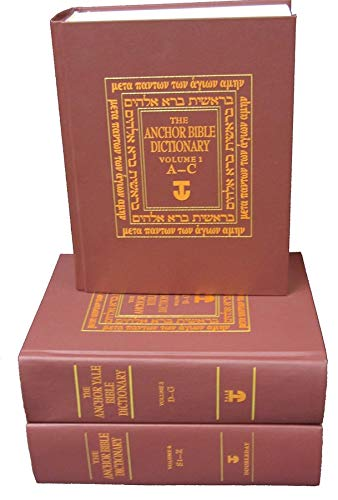 The Anchor Bible Dictionary 6-Volume Prepack: (contains one copy of each volume) (The Anchor Yale ...