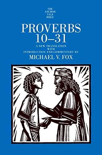 9780300142099: Proverbs 10-31