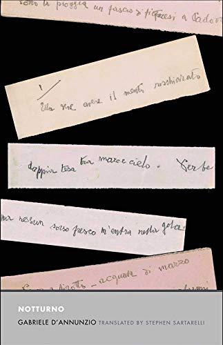 Notturno (Mint First Edition): Gabriele D/Annunzio (author); Stephen Sartarelli (translation, ...