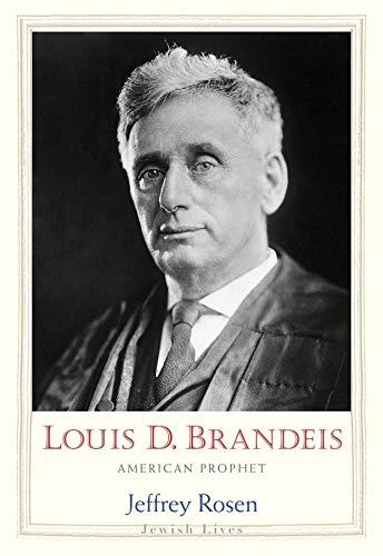 9780300158670: Louis D. Brandeis: American Prophet (Jewish Lives)