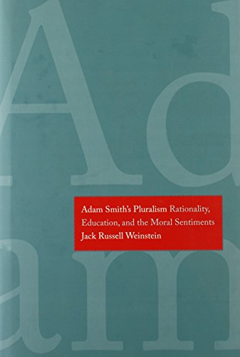 Adam Smith s Pluralism: Rationality, Education, and the Moral Sentiments (Hardback): Jack Russell ...