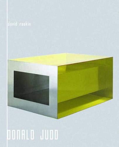9780300162769: Donald Judd