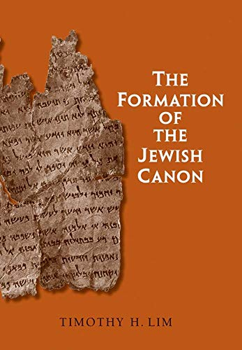 9780300164343: The Formation of the Jewish Canon