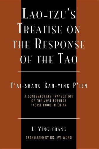 9780300165173: Lao-Tzu's Treatise on the Response of the Tao: A Contemporary Translation of the Most Popular Taoist Book in China (Sacred Literature Trust Series)