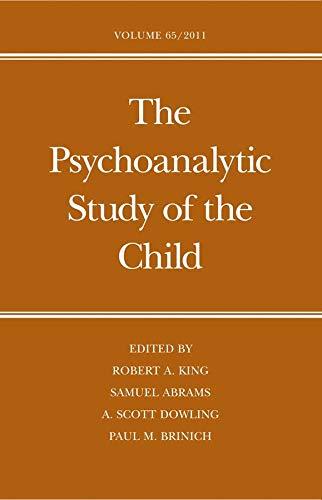 The Psychoanalytic Study of the Child: Volume 65 (Hardback)