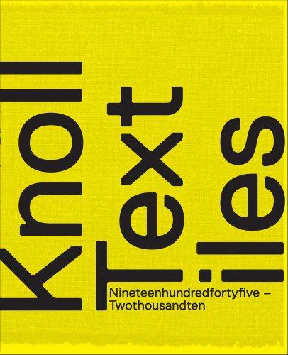9780300170696: Knoll Textiles, 1945-2010