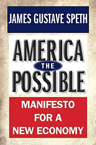 9780300180763: America the Possible: Manifesto for a New Economy (American Crisis)