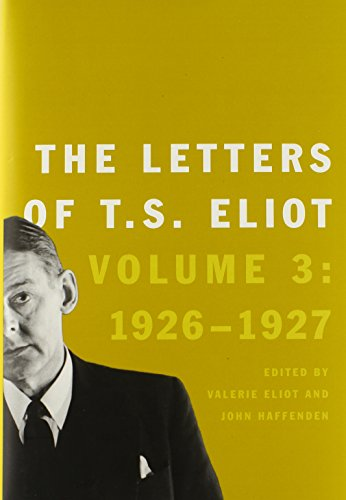 9780300187236: The Letters of T.S. Eliot 1926-1927: 3
