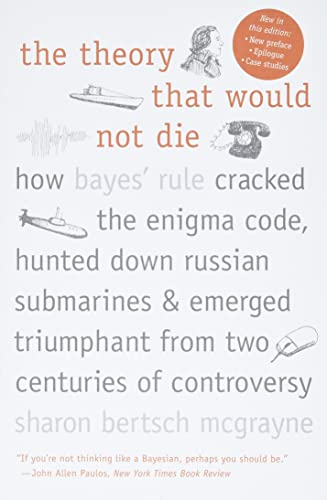 9780300188226: The Theory That Would Not Die: How Bayes' Rule Cracked the Enigma Code, Hunted Down Russian Submarines, and Emerged Triumphant from Two Centuries of Controversy