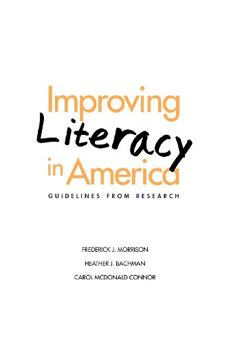 9780300194647: Improving Literacy in America: Guidelines from Research (Current Perspectives in Psychology)