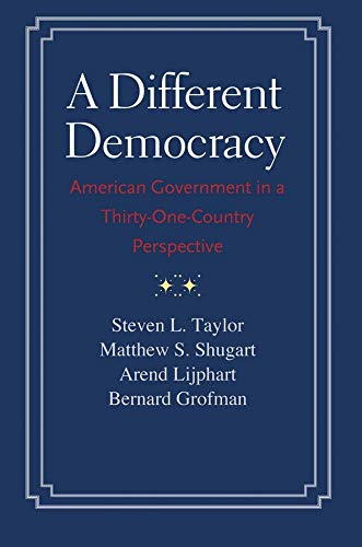 9780300198089: A Different Democracy: American Government in a 31-Country Perspective
