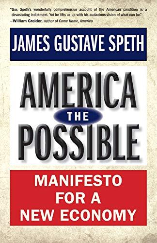 9780300198348: America the Possible: Manifesto for a New Economy (American Crisis)