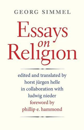 9780300205077: Essays on Religion (Society for the Scientific Study of Religion Monograph Serie)