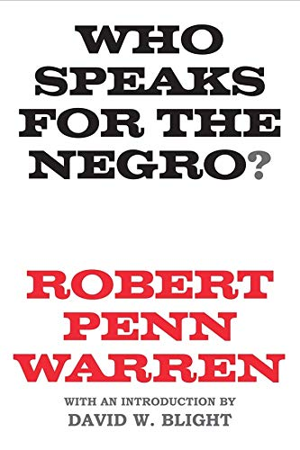 9780300205107: Who Speaks for the Negro?