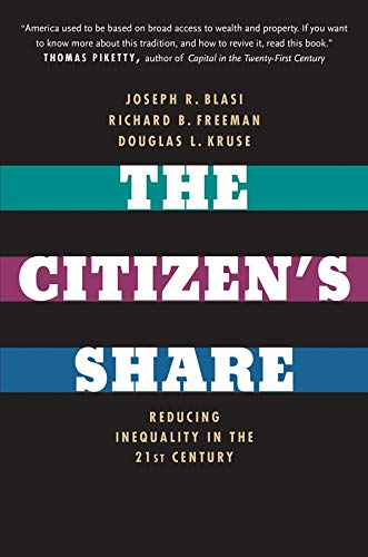 9780300209334: The Citizen's Share: Reducing Inequality in the 21st Century