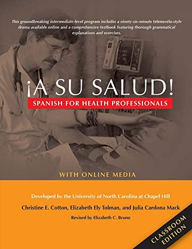 9780300214451: ¡A Su Salud!: Spanish for Health Professionals, Classroom Edition: With Online Media (English and Spanish Edition)