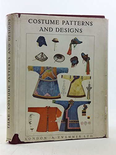 9780302002667: Costume Patterns and Designs