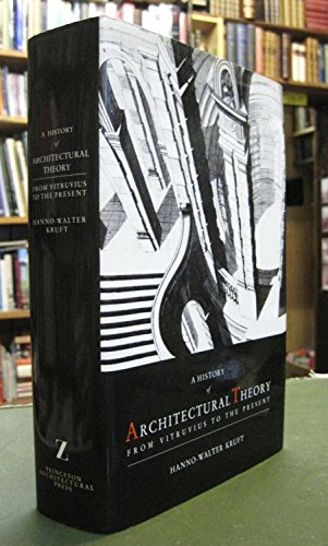 9780302006221: Architectural Theory: From Vitruvius to the Present