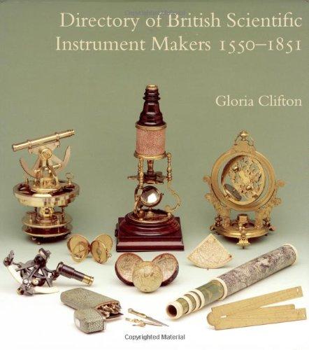 9780302006344: Directory of British Scientific Instrument Makers 1550-1851