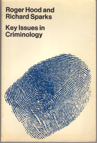 9780303175742: Key Issues in Criminology (World University Library)
