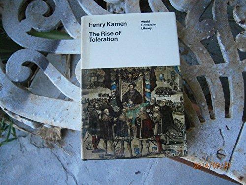 9780303746010: Rise of Toleration (World University Library)