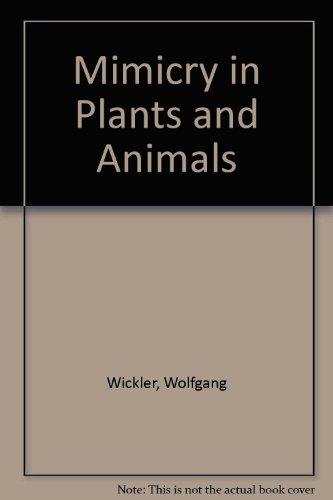 9780303746799: Mimicry in Plants and Animals