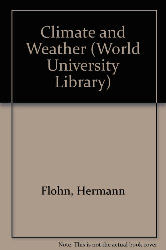 9780303747123: Climate and Weather (World University Library)