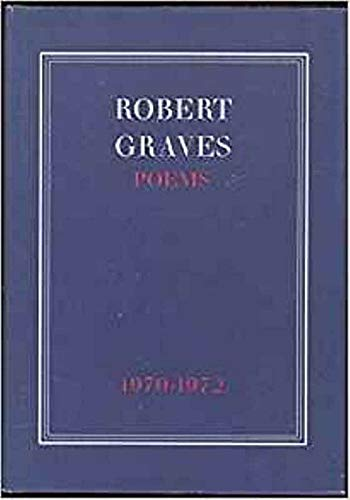 Poems, 1970-72 (0304290475) by Robert Graves