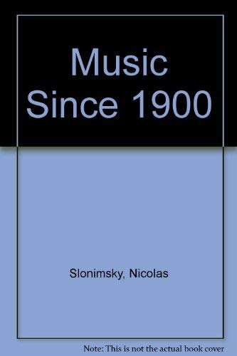 9780304290697: Music Since 1900