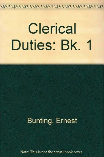 9780304292097: Clerical Duties: Bk. 1  Clerical Duties