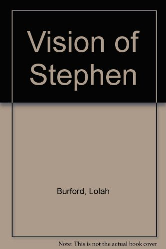 9780304292585: Vision of Stephen
