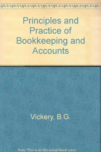 9780304293230: Principles and Practice of Bookkeeping and Accounts