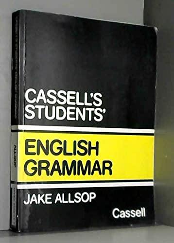 9780304305322: Student's English Grammar