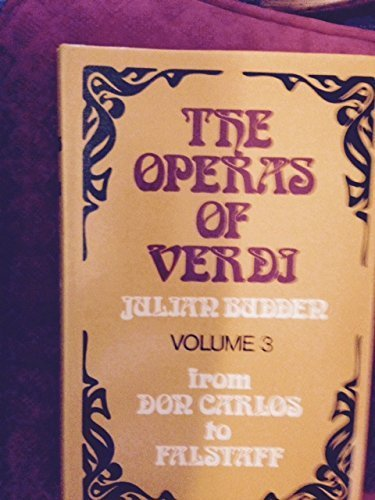 9780304307401: The Operas of Verdi: From