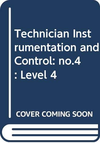 9780304307951: Technician Instrumentation and Control: no.4: Level 4