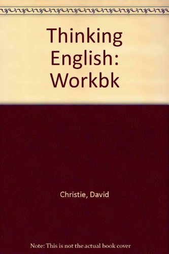 Thinking English: Workbk (9780304311545) by Thorn, Michael