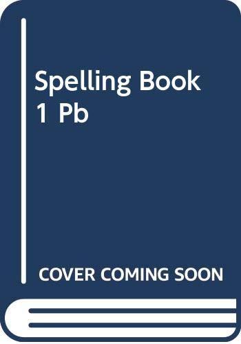 9780304312801: Spelling Book 1
