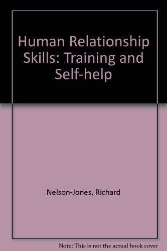 9780304313815: Human Relationship Skills: Training and Self-help