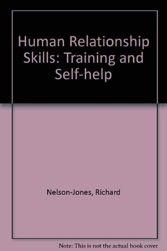 9780304313815: Human Relationship Skills: Training and Self-help