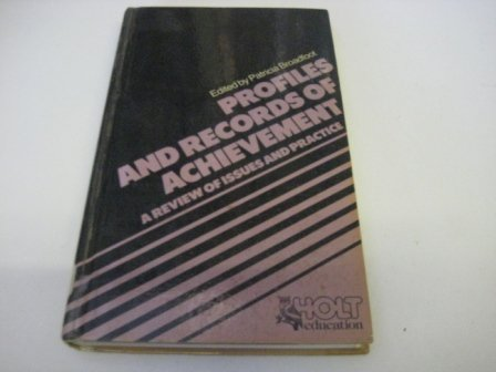 9780304314522: Profiles and Records of Achievement