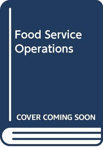 9780304314621: Food Service Operations