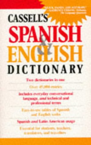 9780304316182: Cassell's Spanish-English, English-Spanish Dictionary