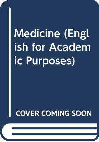 9780304317592: Medicine (English for Academic Purposes)