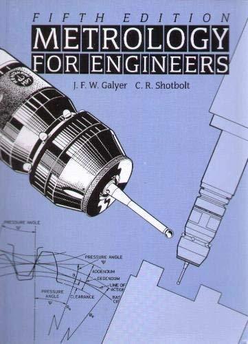 9780304318445: Metrology for Engineers