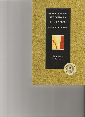 9780304319565: Secondary Education (Education Matters Series)