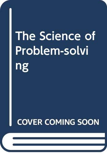 9780304319886: The Science of Problem-solving