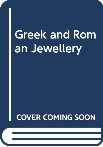 9780304321742: Greek and Roman Jewellery (Cassell's styles in art)