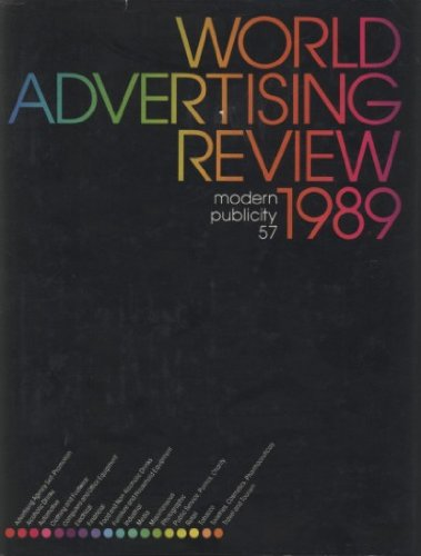 9780304322053: World Advertising Review 1989