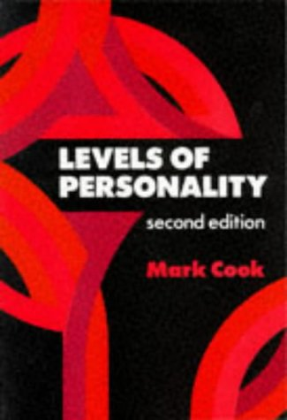 Levels of Personality (Applied Social Sciences): Cook, Mark