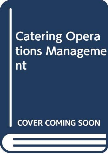 The Management of Catering Operations: Merricks, Paul &